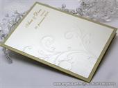 Zahvalnica za vjenčanje Exclusive Gold Line