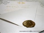 Pečatni vosak zlatni
